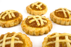 Pineapple tarts Stock Image