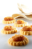Pineapple Tarts. With simple setup royalty free stock image