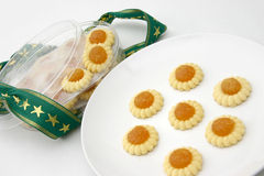 Pineapple tarts Royalty Free Stock Images