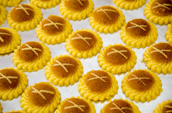 Pineapple tarts Stock Photos