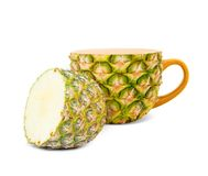 Pineapple tea Royalty Free Stock Photos
