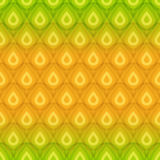 Pineapple texture seamless pattern Stock Images