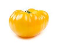 Pineapple tomato  isolated on white Stock Photo