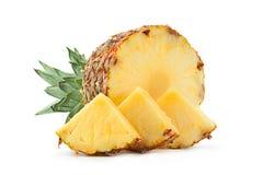 Pineapple tropical fruit closeup Stock Image