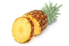 Pineapple tropical fruit closeup Royalty Free Stock Photo
