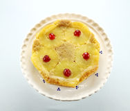 Pineapple Upside Down Cake Royalty Free Stock Images