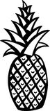 Pineapple vector illustration Stock Photography
