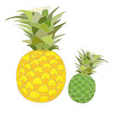 Pineapple vector Royalty Free Stock Image