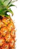 Pineapple on white stock photo