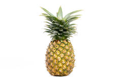 Pineapple  on white Royalty Free Stock Images