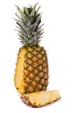Pineapple on white Royalty Free Stock Photos