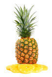 Pineapple on white Stock Photos