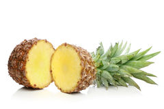 Pineapple on a white background Stock Photos