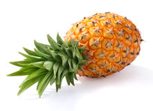 Pineapple. A pineapple on white background