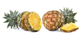 Pineapple on white background Royalty Free Stock Photo