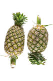 Pineapple on white background Royalty Free Stock Photo