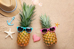 Pineapples Stock Photography