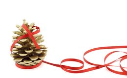 Pinecone Christmas Royalty Free Stock Photo