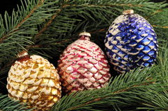 Pinecone Ornaments Stock Photos