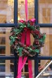 Pinecone wreath Stock Photos