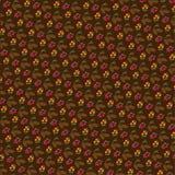 Pinecones tła wzór Obrazy Royalty Free
