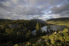 Pinecrest湖 免版税图库摄影