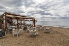 Pineda de Mar,Catalonia,Spain Stock Photography