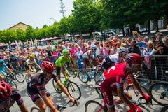 Pinerolo, Italie le 27 mai 2016 ; Début de l'étape de la visite de l'Italie de l'intérieur du groupe, Photo stock