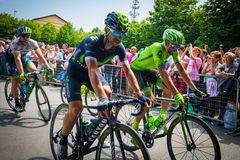 Pinerolo, Italie le 27 mai 2016 ; Début de l'étape de la visite de l'Italie de l'intérieur du groupe, Photos stock