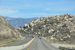 Pines to Palms Scenic Byway in California Royalty Free Stock Photo
