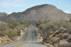 Pines to Palms Scenic Byway in California Royalty Free Stock Images
