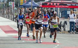 Runners Participating  in the Comrades Marathon in South Africa Stock Images