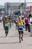 Runners Participating  in the Comrades Marathon in South Africa Royalty Free Stock Image