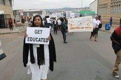 Pinetown-Marsch in Südafrika Stockbild