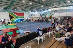 Pinetown sala gimnastycznej areny Południowa Afryka obywatelów czempiony Fotografia Stock