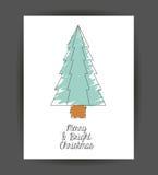 Pinetree decoration for Christmas season Stock Photo