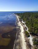 Piney σημείο - χαμηλή παλίρροια Στοκ εικόνες με δικαίωμα ελεύθερης χρήσης