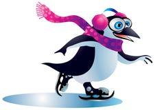 Pingüino #3 de la Navidad Fotos de archivo