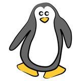 Pingüino de la historieta libre illustration