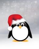 Pingüino de la Navidad Imagen de archivo libre de regalías
