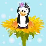 Pingüino del artoon del ¡de Ð libre illustration