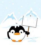 Pingüino en South Pole Imagen de archivo