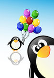Pingüinos de la historieta del vector ilustración del vector