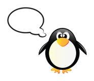 Pingüinos del vector Imágenes de archivo libres de regalías