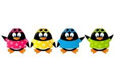 Pingüinos lindos ilustración del vector