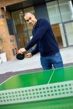 PING-утилита играя pong стоковое фото rf