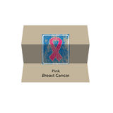 Ping Breast Cancer fold Stock Photography