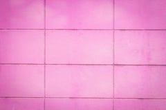 Ping Brick block wall Royalty Free Stock Images