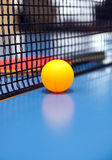 Ping Pong. Racket and ball for table tennis Stock Image
