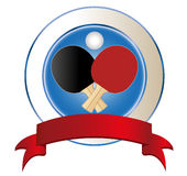 Ping-pong illustration stock